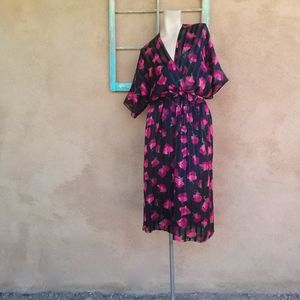 Vintage 1970s Julio Espada Silk Dress